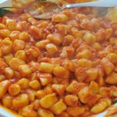 Gnocchi di patate al sugo