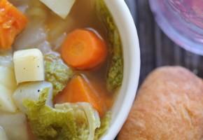 Zuppa di verdure invernale
