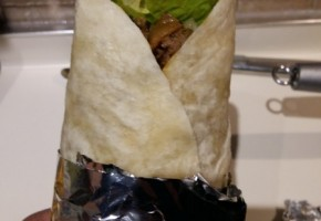 Kebab di maiale e melanzane